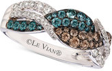 LeVian Le Vian Exotics® Diamond Ring (3/4 ct. t.w.) in 14k White Gold