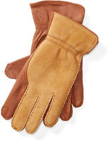 Polo Ralph Lauren Leather-Shearling Gloves