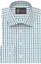 The Lions Collection By Thomas Pink Robins Check Slim Fit Shirt, Navy/green