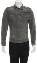 AllSaints Denim Button-Up Jacket