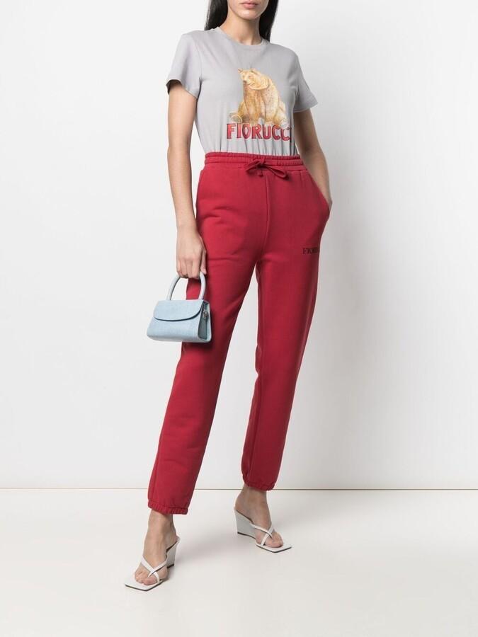 Thumbnail for your product : Fiorucci bear-print cotton T-shirt