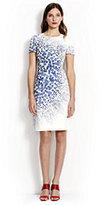 modern Women's Short Sleeve A-line Dress-Pale Rose