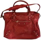 Balenciaga VAlo Red Leather Handbags