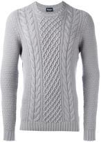 Drumohr cable knit jumper