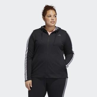 adidas 3-Stripes Hoodie (Plus Size)