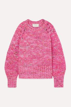 Melange Home Munthe MUNTHE - Hubert Knitted Sweater - Fuchsia