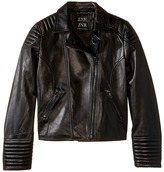eve jnr Leather Moto Jacket (Little Kids/Big Kids)
