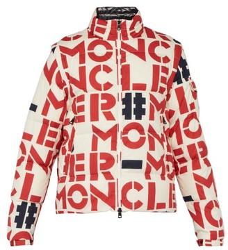 Moncler 2 1952 - Mania Detachable Sleeve Down Filled Cotton Jacket - Mens - White Multi