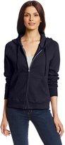 Hanes Women's Full Zip Eco Smart Fleece Hoodie, Gray, 3X-Large