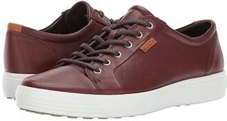 Ecco Soft 7 Sneaker (Black) Men's Lace up casual Shoes