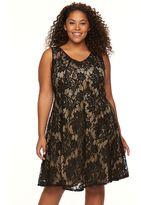 Apt. 9 Plus Size Lace Fit & Flare Dress
