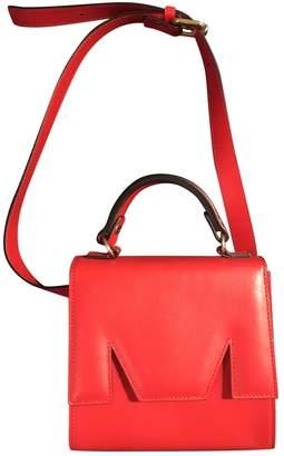 MSGM Red Leather Handbags