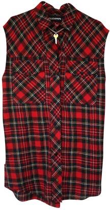 Filles a papa Red Wool Dress for Women