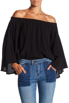 Fifteen-Twenty Fifteen Twenty Flare Sleeve Off the Shoulder Blouse