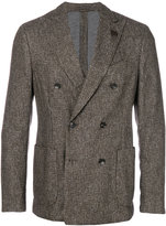 Lardini Fantasia double breasted jacket