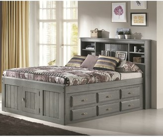 "Birch Laneâ""¢ Heritage Ercole Full Mate's Bed with 12 Drawers and Bookcase Birch Lanea Heritage"