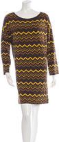 M Missoni Chevron Long Sleeve Dress w/ Tags