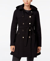 Ivanka Trump Hooded Skirted Trench Coat