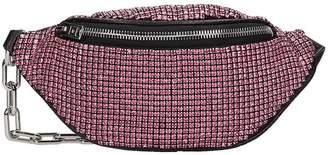 Alexander Wang Attica Mini Waist Bag In Rose-pink Leather