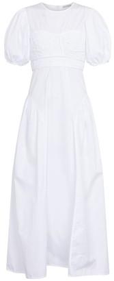 Cecilie Bahnsen Clementine cotton-blend dress