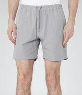 Reiss Reiss Howard - Drawstring Shorts In Grey