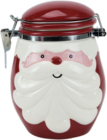Boston Warehouse Curly Beard Santa Hinged Jar