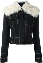 Proenza Schouler shearling collar jacket