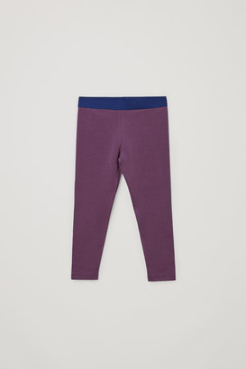 Cos Cotton Jersey Leggings
