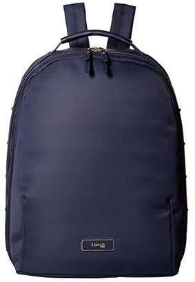 Lipault Paris Business Avenue Medium Backpack (Garnet Red) Backpack Bags