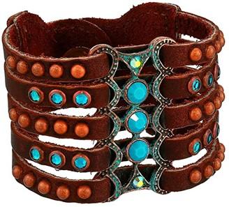 Leather Rock Lottie Bracelet