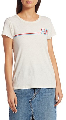 Rag & Bone Racer Rib Cotton T-Shirt