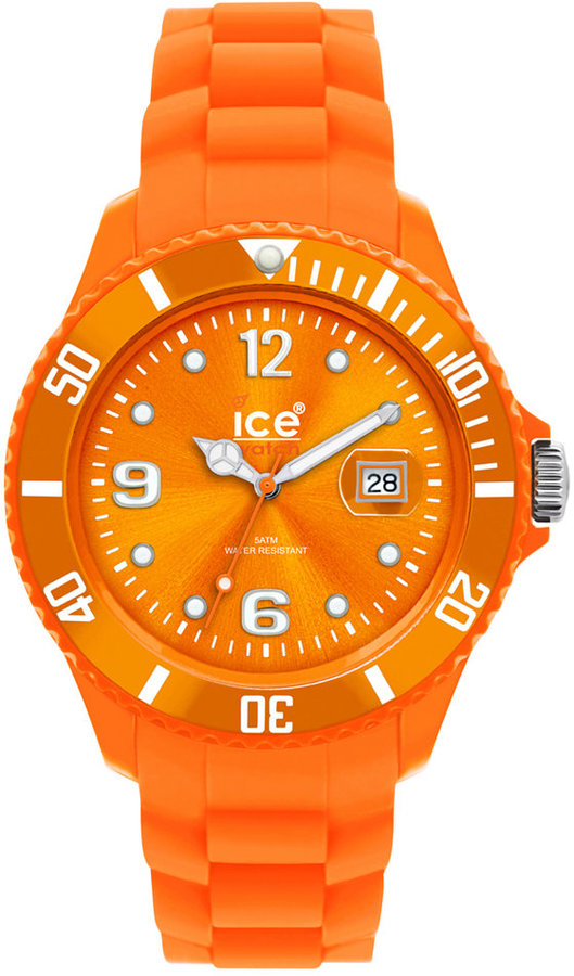 Ice Watch Ice-Watch Watch, Women's Sili Forever Orange Silicone Strap 43mm 101968