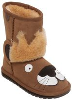 Emu Lion Suede & Merino Wool Boots