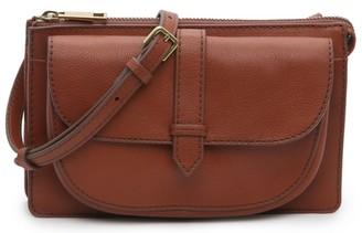 Fossil Rita Leather Crossbody Bag