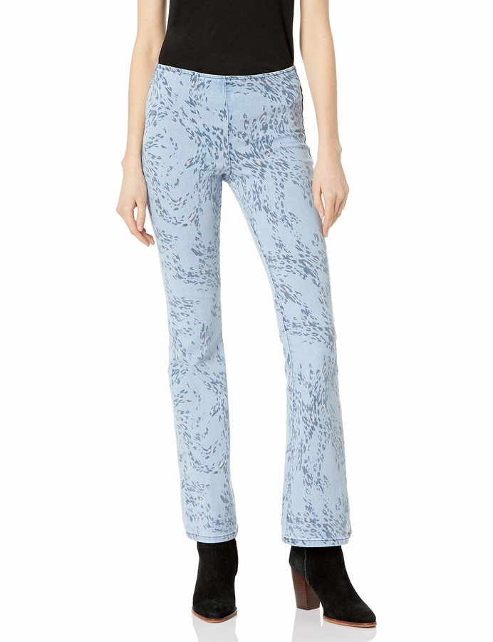 Jessica Simpson Women's Effortless High Rise Pull On Flare Jean