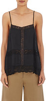 R/R Studio by Robert Rodriguez Women's Lace-Inset Cami-BLACK