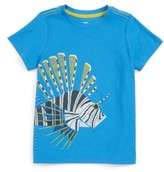 Tea Collection Toddler Boy's Lion Fish Graphic T-Shirt