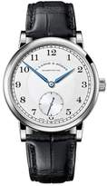 A. Lange & Söhne A. Lange and Sohne 235.026 18K White Gold Silver Dial 38.5mm Mens Watch
