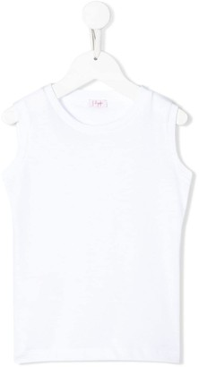 Il Gufo Crew Neck Tank Top