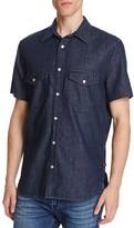 7 For All Mankind Denim Regular Fit Button-Down Shirt