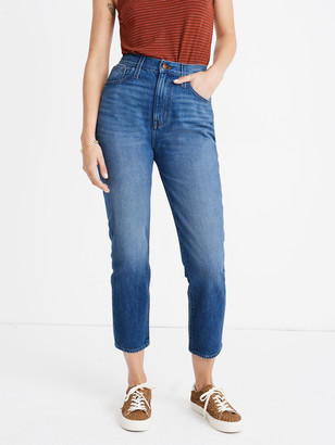 Madewell Mom High Rise Cropped Jean