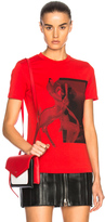Givenchy Bambi Graphic Tee in Red.