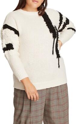 1 STATE Loop Stitch Sweater
