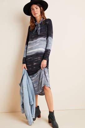 Dolan Left Coast Trina Tie-Dyed Midi Dress