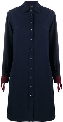 Aspesi Tie-Cuff Shirt Dress