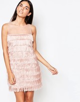 Rare Fringed Shift Dress