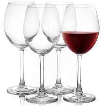 Pasabahce Napa 4-Piece Bordeaux Wine Glass Set