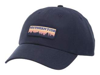 Southern Tide Scenic Patch Waxed Hat