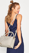 Esprit City bag in soft, grained faux leather