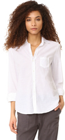 Frank And Eileen Eileen Semi Sheer Button Down
